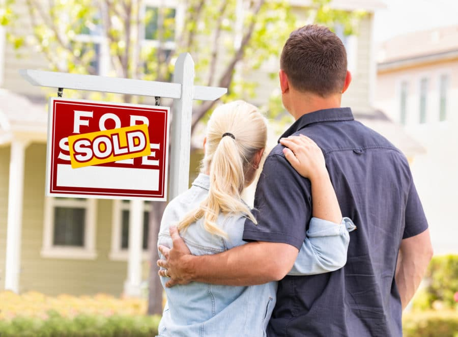 A couple who needed to sell their house fast.